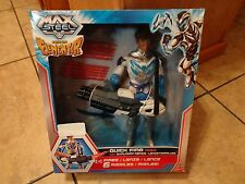 "2013 MATTEL--MAX STEEL RISE OF ELEMENTOR--11"" QUICK FIRE MAX FIGURE (NEW)"
