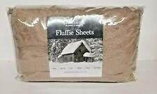 Berkshire Blanket Fluffie Sheet Set-Twinxl-Taupe--NIP