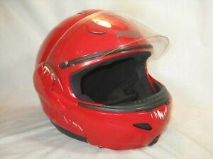 pre-owned NOLAN  N 100 XXL Classic motorcycle helmet flip up N100 red  1640 g.