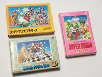 Famicom Super Mario Bros 1 USA 3 I III Boxed Japan FC game US Seller