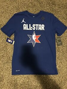 New Nike Jordan NBA All Star Weekend Kemba Walker Shirt Dri Fit Size Medium