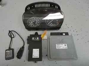 07-10 BMW N54 CAS + ECM + Key MSD80 ECU Engine Computer w/ GIAC Tune Tuner