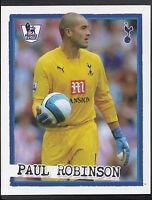 Merlin Football Sticker - Kick Off 2007-08 - No 198 - Tottenham - Paul Robinson