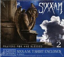 SIXX: A.M. PRAYERS FOR THE BLESSED CD+T-SHIRT NUOVO SIGILLATO