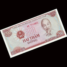 Bundle 100 PCS, Vietnam Viet Nam 200 Dong, 1987, P-100, UNC, Lot Pack