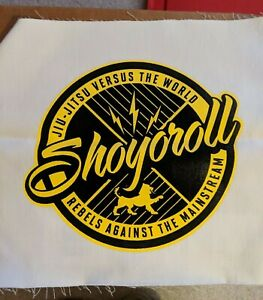 Shoyoroll Large Black/Yellow Patch NEW Kimono Gi