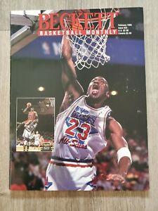 Beckett Basketball Monthly February 1993 Michael Jordan Issue #31