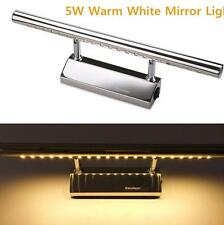 White Mirror Front Light Lamp Bath Wall Stainless Steel Lighting Home Fixtures