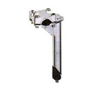 BP GENERAL-STEM, BMX,  21.1mm quill,  22.2mm H/bar clamp, SILVER(2889)