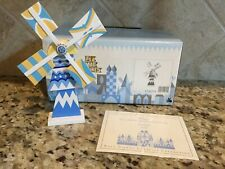WDCC Small World  Holland Windmill With COA