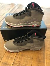 New Jordan Little Kids 10 Retro (PS) Basketball Shoes 487212-006 Size 2 Youth
