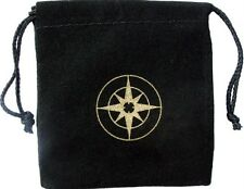 "NEW - 3"" x 2.75"" - VELVET DRAWSTRING POUCH FOR GEOCOINS"