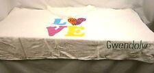 "Company Store Kids Hooded Love ""Gwendolyn"" Towel 1108S 38167"