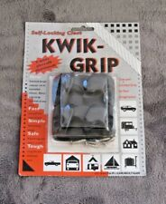 NEW KWIK GRIP SELF LOCKING CLEAT 2 PACK KWG-0201 WORKS WITH ANY ROPE UP TO 1/2""
