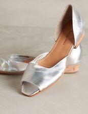 NEW Rachel Comey Carmine D'Orsay Silver Flats Size 6
