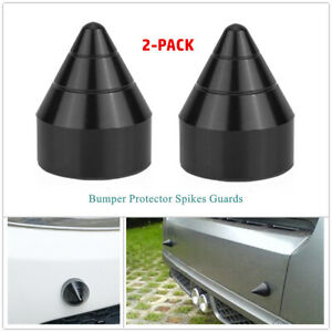 Aluminum Alloy Car Front & Rear Bumper Spike Guard Protector Anti Collision
