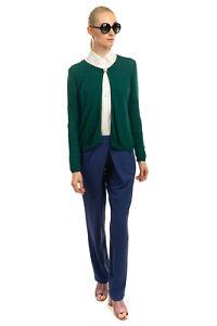 RRP €295 PIERRE BALMAIN Cardigan Size M-L Cashmere & Angora Wool Blend Brooch
