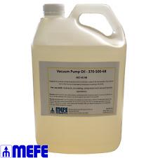 Vacuum Pump Oil - No. 68 Food Grade - 5L bottle (370-500-68)