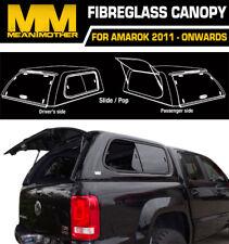 Fibreglass Canopy For VW AMAROK SLIDE/POP 2011-ON 2H Dual Cab