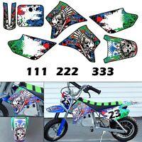 Burly Effects Graphics kit for Razor MX350 & MX400 Dirt Bike Stickers Decals