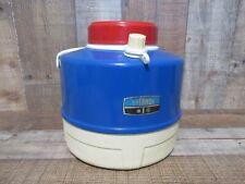 Vintage Thermos 1 Gallon Picnic Jug - Rare Red ,White & Blue Color