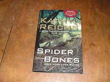 Spider Bones by Kathy Reichs (2010, Hardcover) Temperance Brennan series