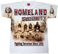 Homeland Security T-Shirt. Native American Shirt. Native Indian Shirt. Immigrati