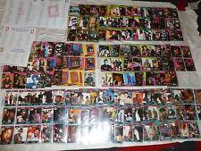 SUPER STARS MUSICARDS - Series 1&2 340 Cards + YO MTV RAPS Series 1&2 150 Cards