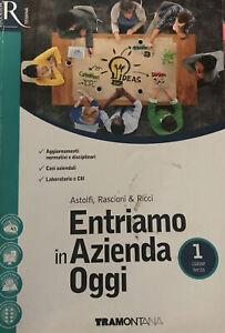 Libro scuola TRAMONTANA - ENTRIAMO IN AZIENDA OGGI 1 - ISBN: 9788823350953