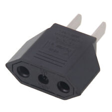 Euro EU To US USA Universal Travel Power Adapter Adaptor Converter Plug Outlet