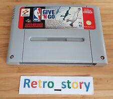 Super Nintendo SNES NBA Give 'N Go PAL