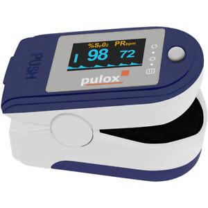 Finger-Pulsoximeter PULOX PO-250 mit Aufnahme- und Alarm-Funktion