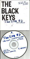 Dan Auerbach THE BLACK KEYS Live EP 2007 LIMITED RARE LIVE TRX PROMO CD single