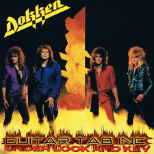 Dokken Digital Guitar Tab UNDER LOCK AND KEY Lessons on Disc George Lynch