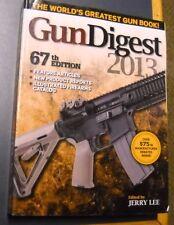 GUN DIGEST 2013 67TH EDITION NEW WORLD'S GREATEST GUN BOOK! JERRY LEE PAPERBACK
