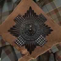 Scots Guards Scottish Military Regimental British Army Cap Badge - Free Postage