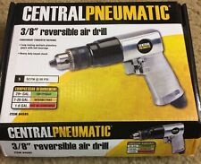 """""""New"""" Central Pneumatic 3/8"""" Reversible Air Angle Drill 67474 / Free Shipping"""
