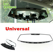 Universal 305mm Wide Convex Clip-on Rear View Mirror For Interior Accessories