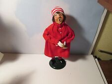 Byers Choice Retired 1988 Pajama Boy with Candle