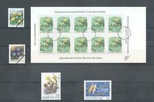 (859328) Flowers, Booklet, Small lot, Finland - SPECIMEN -