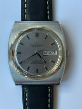 Omega Constellation Vintage Wrist Watch Circa 1970 coin edge bezel