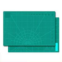 A3/A4 Doppelseitiges Schneidepad Schneidebrett PVC Mauspad Film Schneiden DIY DE