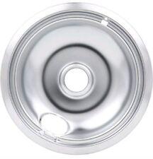 "Whirlpool Stove Range Cooktop 6/"" Burner Chrome Drip Pan Bowl 4389591"