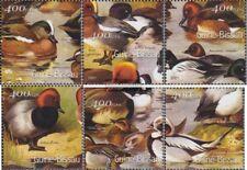 Guinée-bissau 1458-1463 neuf avec gomme originale 2001 Oiseaux