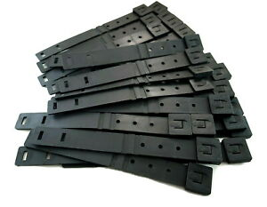 """30 x Tactical Tailor - Short 8"""" Black MALICE Clips For GERBER,BUCK Knife Pouch!"""