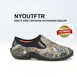 Dryshod LEGEND Camo Camp Shoe Camo/Black Muck Style MCM-MS-BK All Sizes