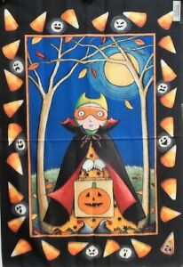 """Trick or Treat Halloween Standard House Flag by Toland 24"""" x 36"""", #994"""