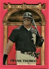 FRANK THOMAS 1997 E-X 2000 HALL OR NOTHING DIE-CUT CHICAGO WHITE SOX #1