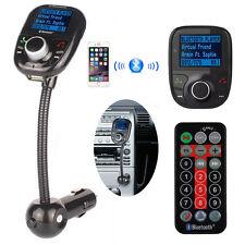 Bluetooth Auto FM Transmitter Freisprechanlage Car MP3 Player USB SD AUX KFZ WW