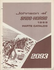 1969 JOHNSON SKEE-HORSE SNOWMOBILE PARTS MANUAL P/N 260993 (191)